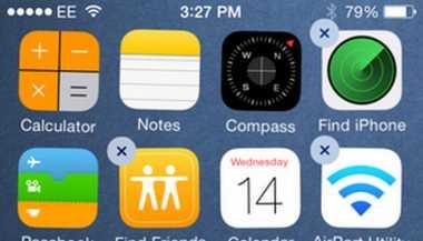 Nih, Cara Mudah Menghapus iOS App di iPhone dan iPad