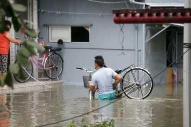 Warga Desa di Pulau Lantau Dievakuasi Usai Topan Hato Hantam Hong Kong