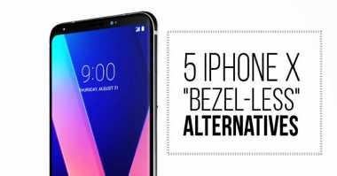 Nih! Daftar 5 Smartphone Tanpa Bingkai Selain iPhone X