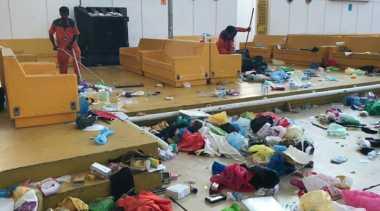 Miris! Fenomena Sampah yang Berserakan Sisa Jamaah Haji Indonesia