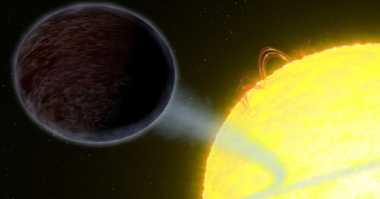 Terungkap! Exoplanet WASP-12b Super Panas dan Gelap Gulita