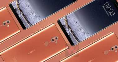 Usung Layar Penuh, Inikah Cara Nokia Saingi Galaxy S8 dan iPhone X?