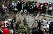 TERBARU! Korban Tewas Gempa Dahsyat Meksiko Mencapai 138 Orang, Semua WNI  Selamat