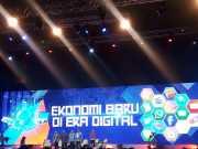 Di Depan Presiden, Menkominfo Keluhkan Beratnya Tantangan Memajukan Ekonomi Digital