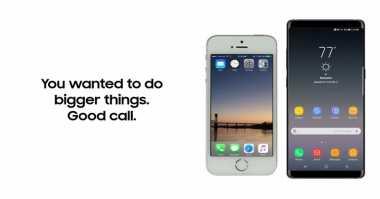 Nih Cara Samsung 'Goda' Pengguna iPhone Beralih ke Galaxy Note 8