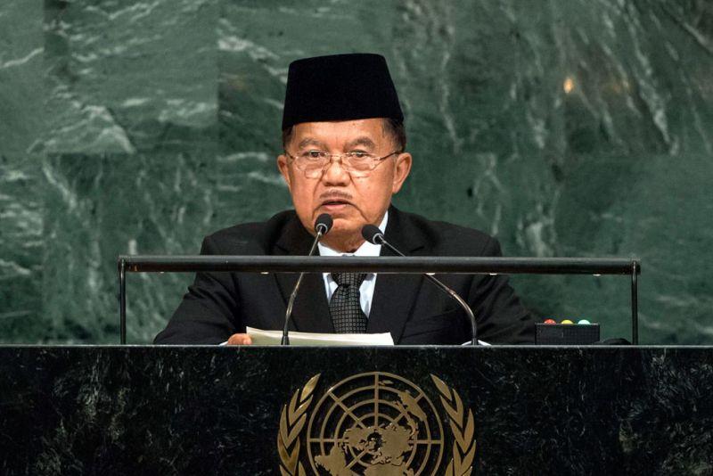 Berbicara di Sidang Majelis Umum PBB, Wapres JK: Dunia Membutuhkan Kemitraan Global Sejati