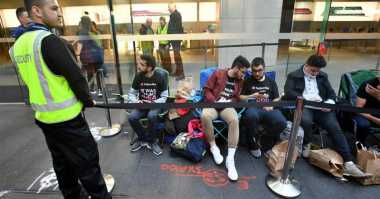 Waduh! Resmi Dirilis, Toko iPhone 8 di Sydney Sepi Peminat