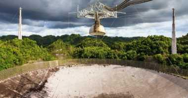 Duh! Badai Dahsyat Hantam Teleskop Radio Terbesar di Dunia