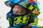 Meski Belum Pulih Sepenuhnya, Rossi Berjanji Tampilkan yang Terbaik di Aragon