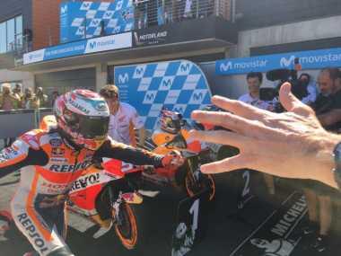 Rajai Sirkuit Aragon, Marc Marquez Cetak Kemenangan Ke-60 di Ajang Grand Prix