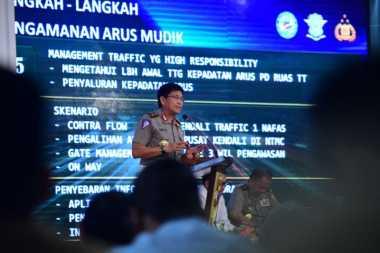 Kakorlantas Prediksi Sejumlah Titik Rawan Kemacetan Arus Mudik di Tol Trans Jawa