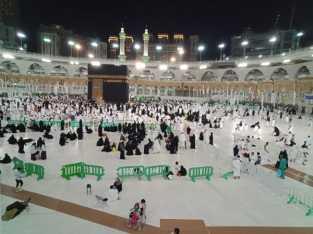 Begini Suasana di Masjidil Haram yang Masih Sepi Jamaah Haji