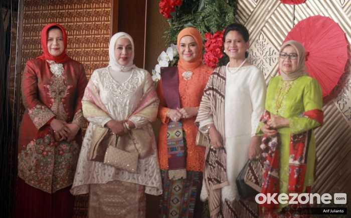 Pakai Baju Kurung dan Kebaya, Lihat Gaya Iriana Jokowi dan Menteri Perempuan di Sidang Tahunan MPR
