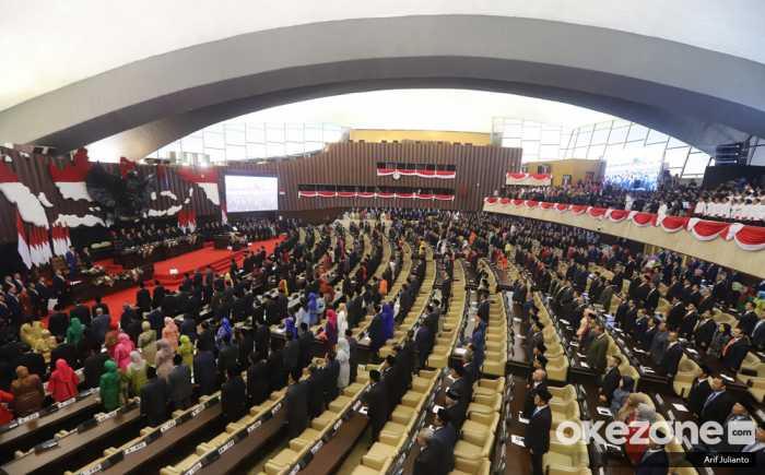Di Sidang Tahunan DPD-DPR, Muncul Doa Ibu Kota Dipindah ke Kaltim