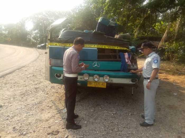 Jasa Raharja Santuni Korban Kecelakaan Bus Maut di Riau