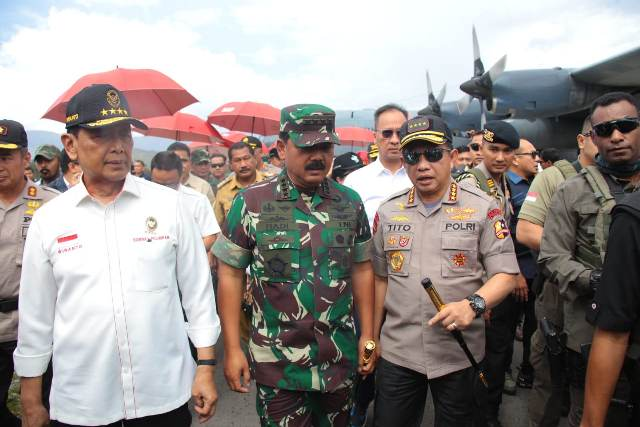 Kapolri Klaim Sudah Kantongi Nama-Nama Aktor Intelektual Kerusuhan di Papua