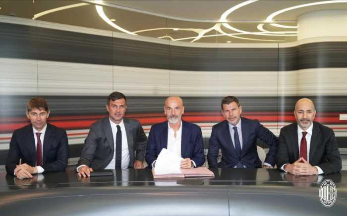 Milan Resmi Pilih Stefano Pioli sebagai Pengganti Giampaolo
