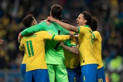 Tertinggal Lebih Dulu, Brasil Imbangi Nigeria 1-1