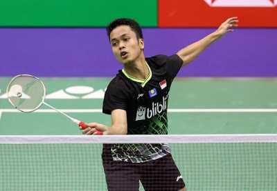Anthony Ginting Melaju ke Perempatfinal Hong Kong Open 2019