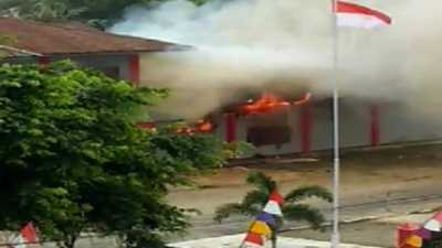 Kerusuhan di Sorong Papua, 1 Warga Tewas dan 9 Rumah Terbakar