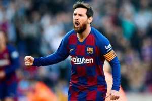 Barcelona vs Eibar, Quattrick Messi Beri Blaugrana Kemenangan Besar