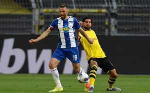 Babak Pertama Dortmund vs Hertha Berlin, Tanpa Haaland Die Borussen Sulit Cetak Gol