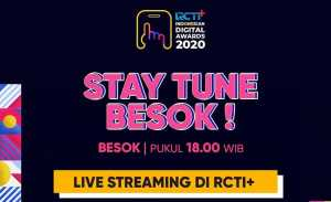 RCTI Indonesian Digital Awards 2020, Ajang Penghargaan yang Dikemas Konser Virtual
