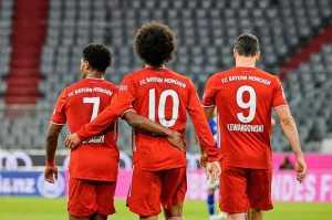 Bayern Hajar Schalke 8-0, Sane: Kami Masih Lapar!