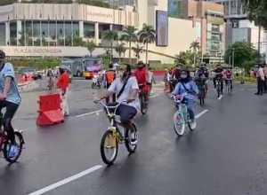 Hari Ini Pesepeda Masih Mengarah ke HI, Ini Penjelasan Kadishub DKI