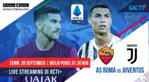 Live Streaming AS Roma vs Juventus Dapat Disaksikan di RCTI