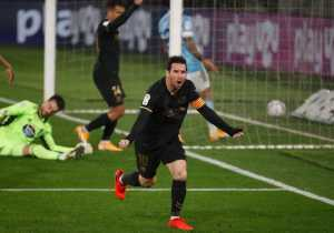 Barcelona Bungkam Celta Vigo 3-0 dengan 10 Pemain