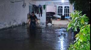 Puluhan Rumah Warga Babel Terendam Banjir hingga Satu Meter