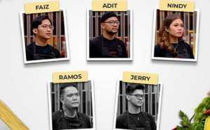 Banjir Air Mata, Jerry dan Ramos Pulang dari MasterChef Indonesia Seasons 7