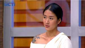 Cantiknya Chef Renatta Moeloek Pakai Blouse di Masterchef Indonesia Episode 12