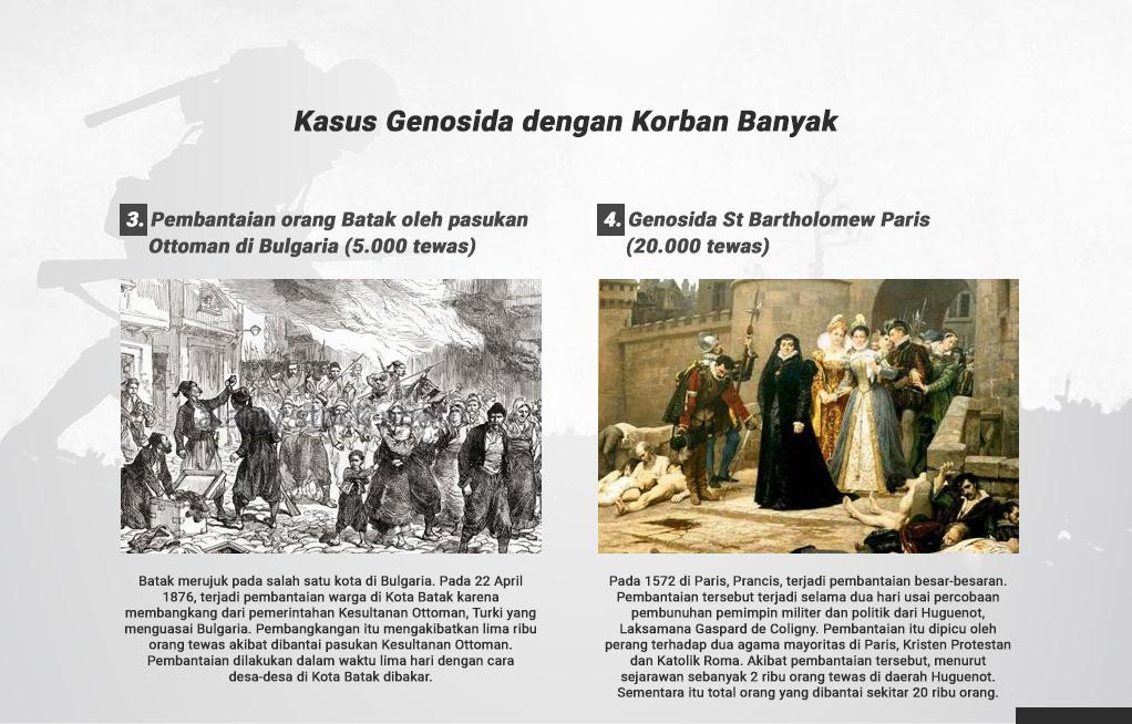 Kasus Genosida Yang Terlupakan Sejarah -