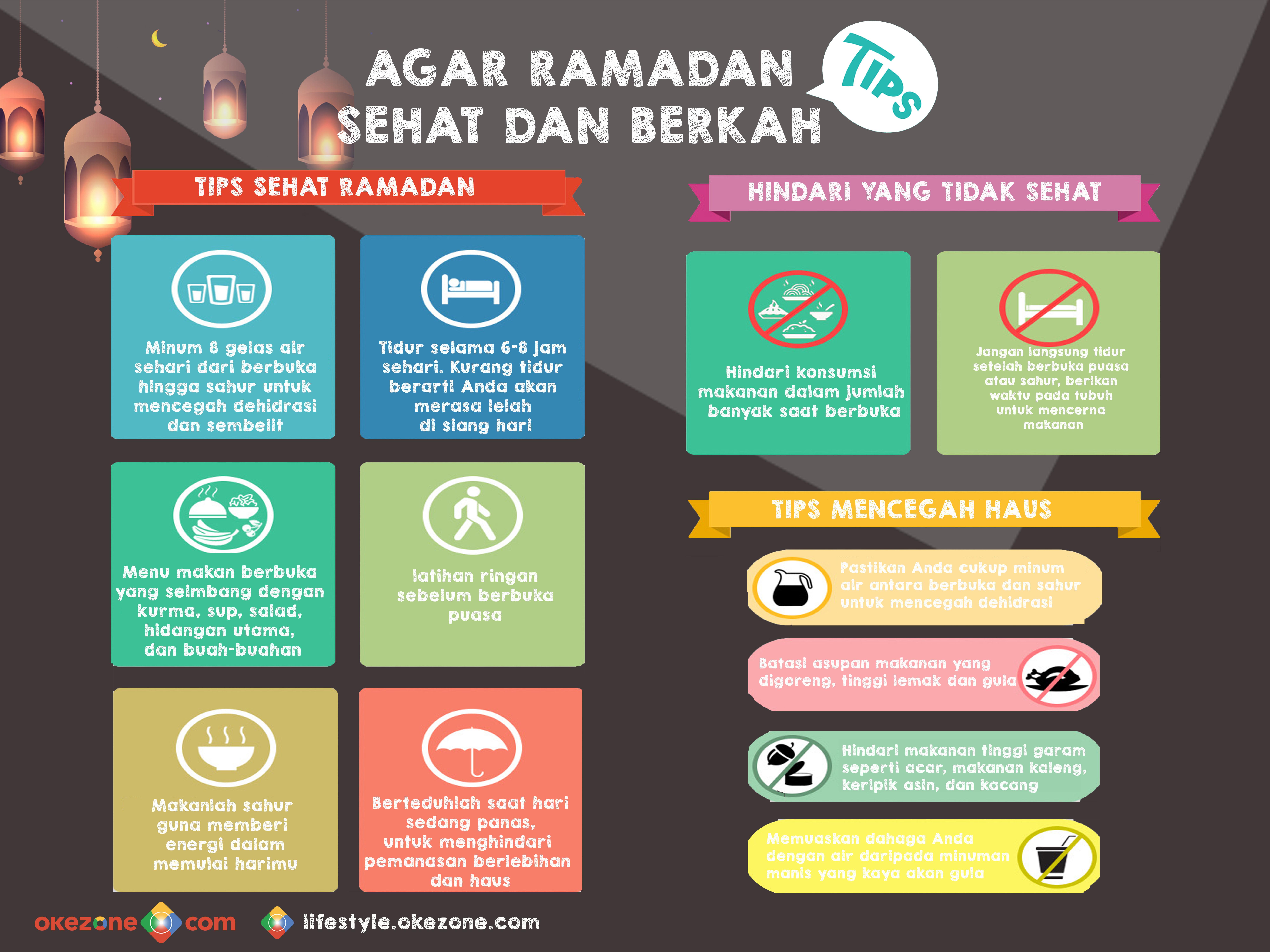 Tips Agar Ramadan Sehat & Berkah -