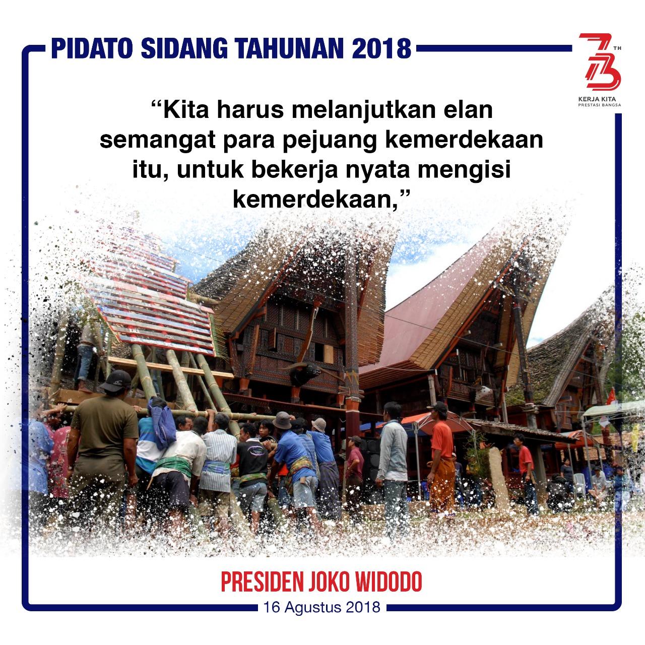 Pidato Sidang Tahunan 2018 -