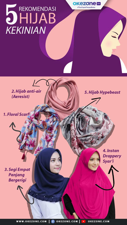 5 Rekomendasi Hijab Kekinian -