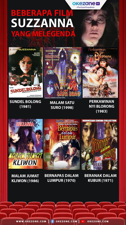 Beberapa Film Suzzana yang Melegenda -