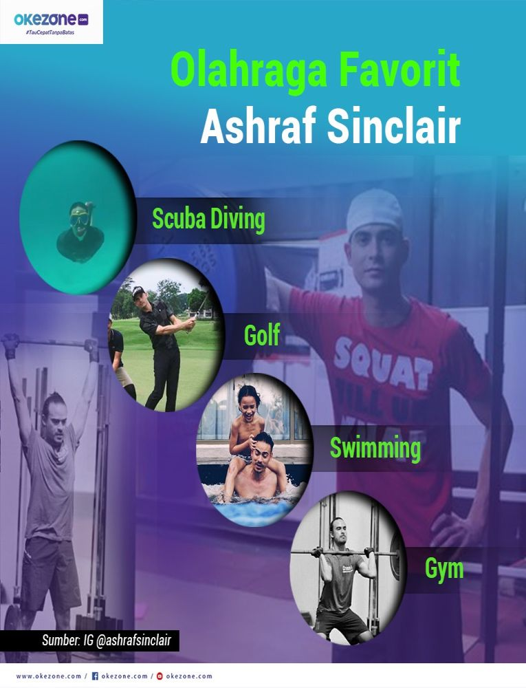 Olahraga Favorit Ashraf Sinclair -