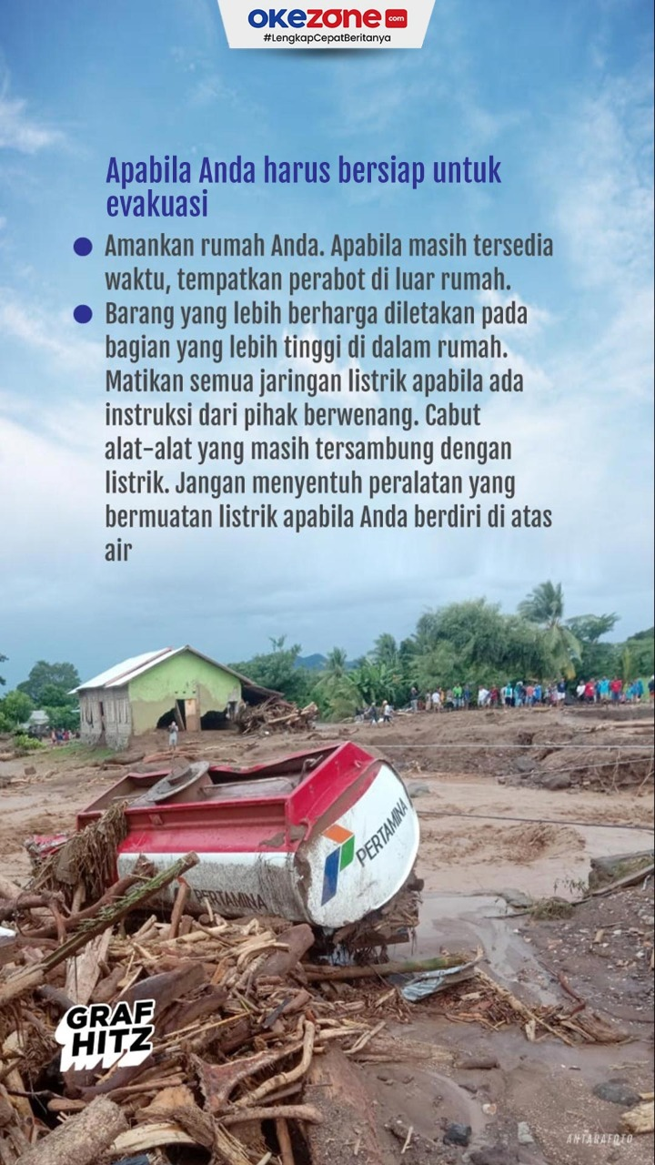 Hal yang Dilakukan Ketika Terjadi Banjir Bandang -