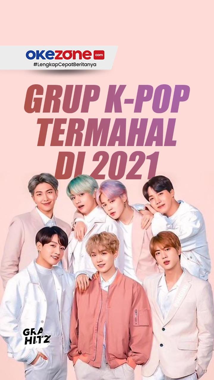 Grup K-pop Termahal di 2021 -