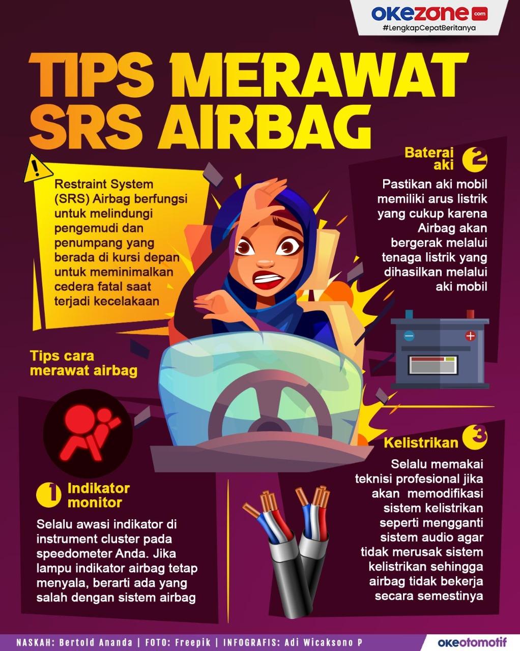 Tips Merawat SRS Airbag -