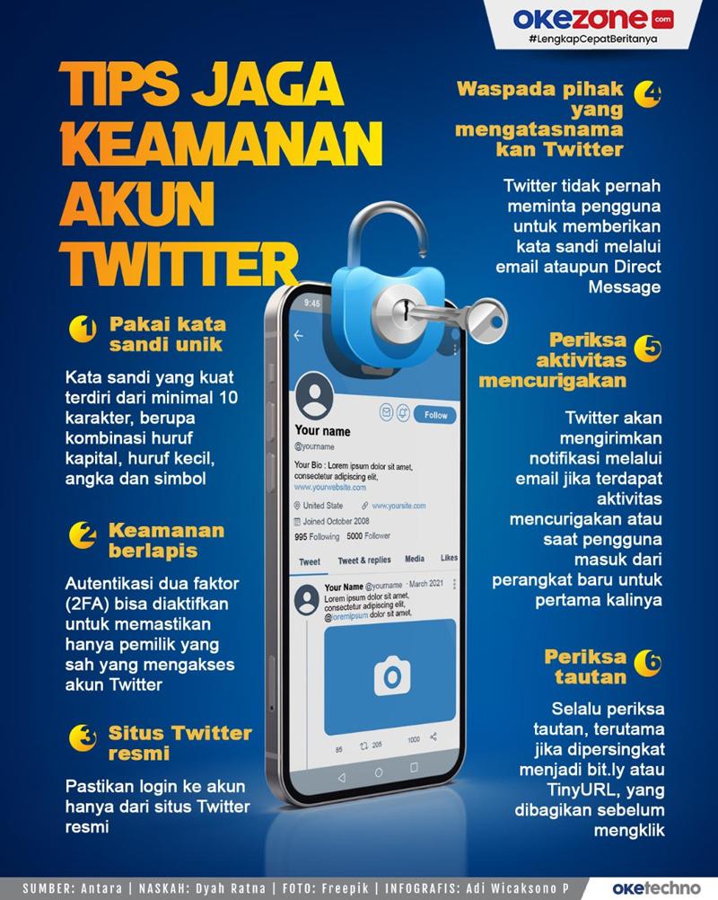 Tips Menjaga Keamanan Akun Twitter, Boleh Dicoba Lho! -