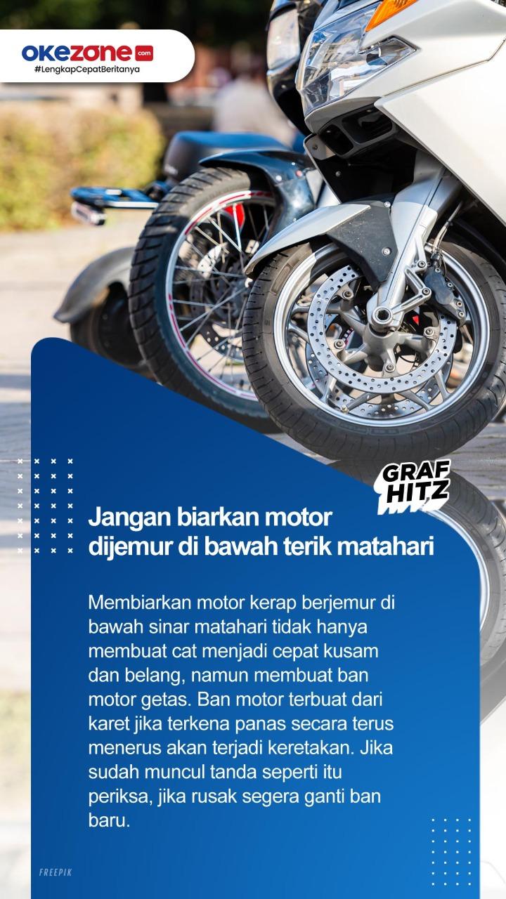 Tips Agar Ban Motor Tetap Awet, Coba Yuk! -