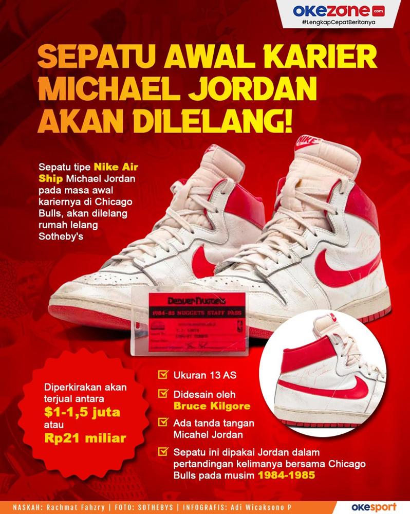 Sepatu Awal Karir Michael Jordan Akan Dilelang! -