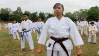 Bocah SD Wakili Indonesia dalam Kejuaraan Karate di Swiss