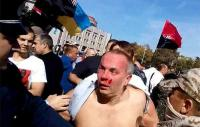 Kampanye, Politikus Ukraina Diamuk Massa