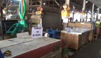 Tidak Mau Dites Swab, 16 Pedagang Pasar Dilarang Jualan
