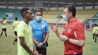 Kunjungi Latihan Timnas Indonesia U-16, Ini Harapan Ketum PSSI